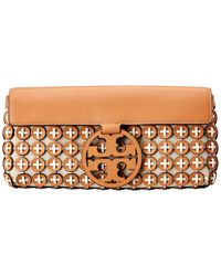 Tory Burch Miller Leather Chainmail Clutch - Multicolor