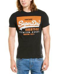 Superdry Vintage Logo T-shirt - Black
