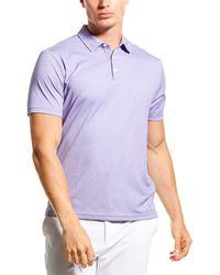 Robert Barakett Tilman Polo Shirt - Purple
