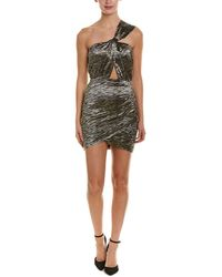 IRO Yrung Silk-blend Shift Dress - Black