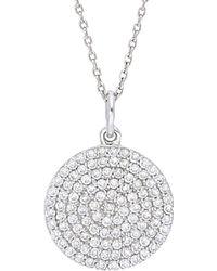 Nephora - 14k 0.80 Ct. Tw. Diamond Necklace - Lyst