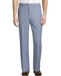 Brooks Brothers - Regent Wool And Linen Blend Trouser - Lyst
