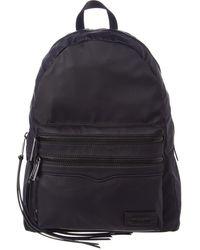 Rebecca Minkoff Large 2 Zip Backpack - Black