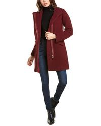 J.Crew Cocoon Wool-blend Coat - Red