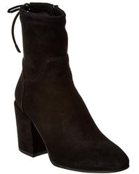 Aquatalia - Fairen Waterproof Suede Bootie - Lyst