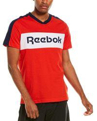 Reebok Graphic T-shirt - Red