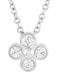 Heritage Tiffany & Co. Tiffany & Co. Diamond Necklace - Metallic