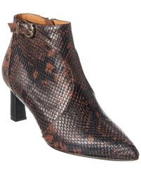 Joie Rawly Leather Bootie - Red