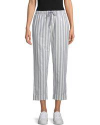 Rebecca Minkoff Striped Cropped Pants - Multicolor
