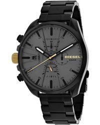 DIESEL Men's Ms9 Watch - Black