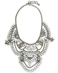 Elizabeth Cole - Stephanie Necklace - Lyst