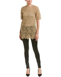 Valentino Lace Top - Natural