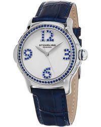 Stuhrling Original Women's Vogue Watch - Blue
