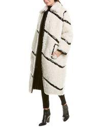 Stand Studio Cleo Coat - White