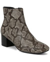Donald J Pliner Cyrus Snake-embossed Leather Boot - Multicolour