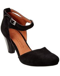Gentle Souls By Kenneth Cole Raven Suede Pump - Black