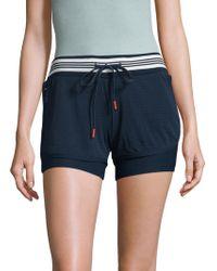 X By Gottex - Mesh Overlay Shorts - Lyst