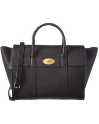 Mulberry - Bayswater Classic Small Grain Leather Satchel - Lyst
