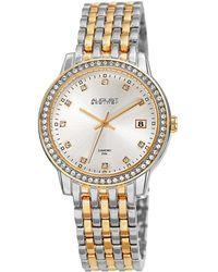 August Steiner Women's Alloy Watch - Metallic