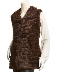La Fiorentina Knitted Vest - Brown