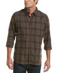 Billy Reid Tuscumbia Plaid Standard Fit Sport Shirt - Green