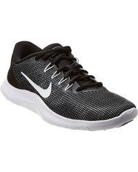 c750bc923 Lyst - Nike Women s Flex 2017 Rn Running Shoe in Black