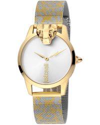 Just Cavalli Women's Animal Watch - Metallic