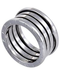 BVLGARI Bulgari B.zero1 18k Ring - Metallic