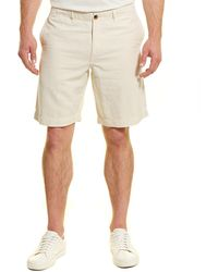 Billy Reid Clyde Linen-blend Short - Natural