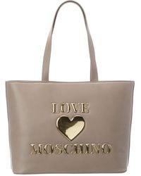 Love Moschino Tote - Grey