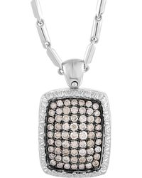 Roberto Coin 18k 1.01 Ct. Tw. Diamond Necklace - Metallic