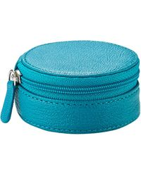 Graphic Image Jewelry Case - Blue