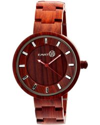 Earth Unisex Branch Watch - Red