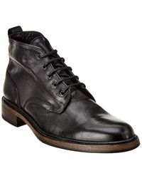 Rag & Bone Spencer Leather Chukka Boots - Black