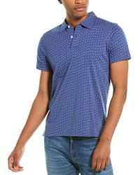 Brooks Brothers Traditional Fit Polo Shirt - Blue