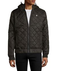 G-Star RAW - Meefic Quilted Hdd Overshirt Jacket - Lyst