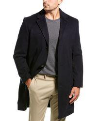 J.Crew Brixton Wool & Cashmere-blend Coat - Blue