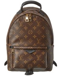 Louis Vuitton Monogram Canvas Palm Springs Backpack Pm - Brown
