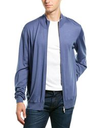 Brunello Cucinelli Wool & Cashmere-blend Sweater - Blue