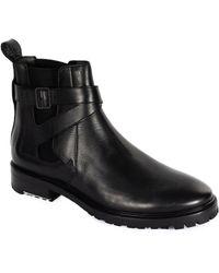 Lanvin Leather Boot - Black