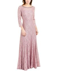 Tahari Gown - Purple