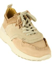Tod's Tod?s Sport Suede Trainer - Natural