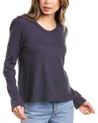 Wilt Puff Sleeve Shirt - Blue
