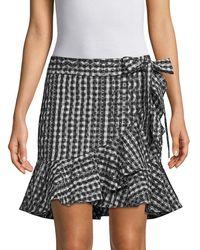 Rebecca Minkoff Alice Wrap Skirt - Black
