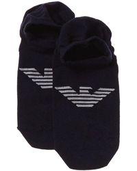 Emporio Armani Socks - Blue