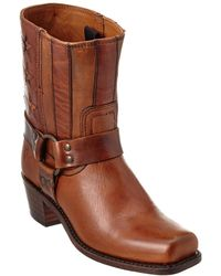 Frye - Harness Leather Boot - Lyst