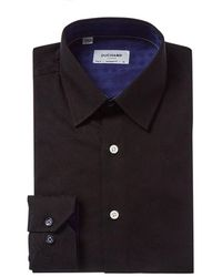 Duchamp Tailored Fit Dress Shirt - Black