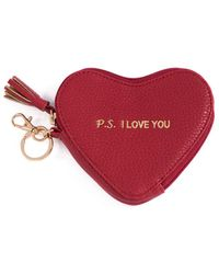 Shiraleah Gigi Ps. I Love You Heart - Red