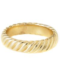 David Yurman - David Yurman Cable 18k Ring - Lyst