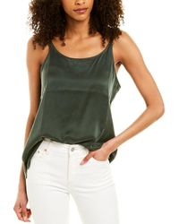 Eileen Fisher Silk Tank - Green